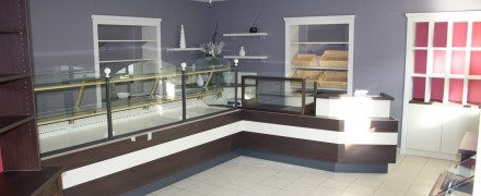 vitrine agencement chocolatier